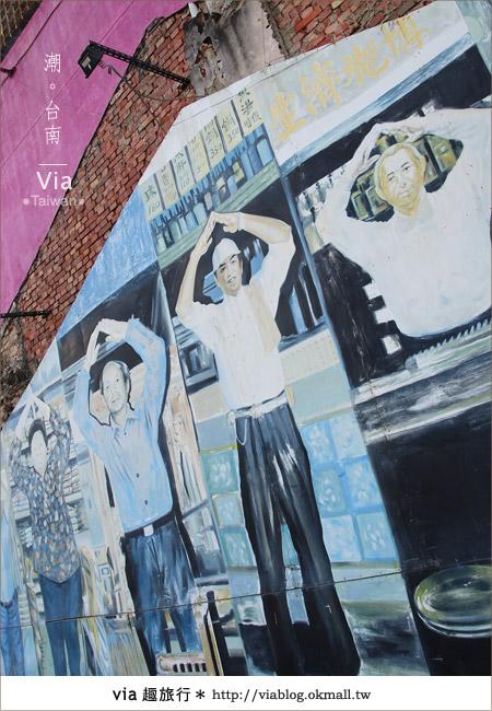 【台南】台南海安路藝術街~必拍的台南景點!16