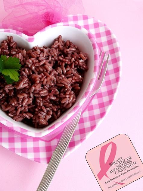 risotto al vino - campagna nastro rosa