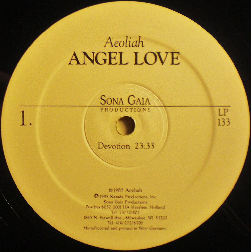 Angel Love label