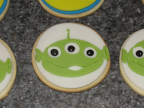 Toy Story favor cookie