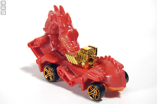 Mattel Hot Wheels - Rodzilla (2010 Scary Cars 5-pack, Target excl., 9/10)