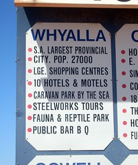 All you need to know about Whyalla (Abi Skipp) Tags: fauna bush reptile tourist outback information southaustralia steelworks whyalla