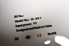 EKEN M003 買い直し 背面プリント