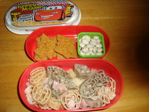 Harvest pasta with honey ham 10-19-2010 by Rina Ameriasianbento