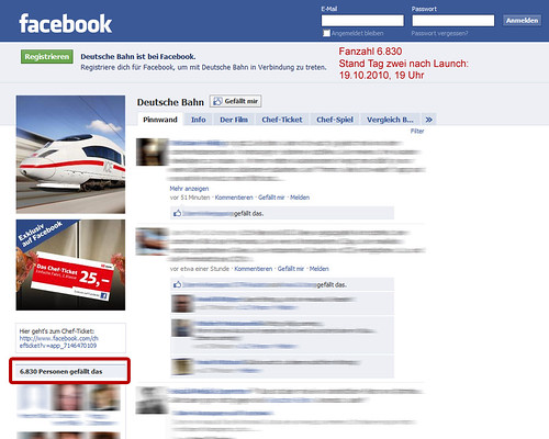 DB Chefticket Facebook - Tag 2
