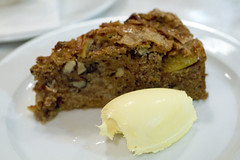 Apple and Calvados Cake