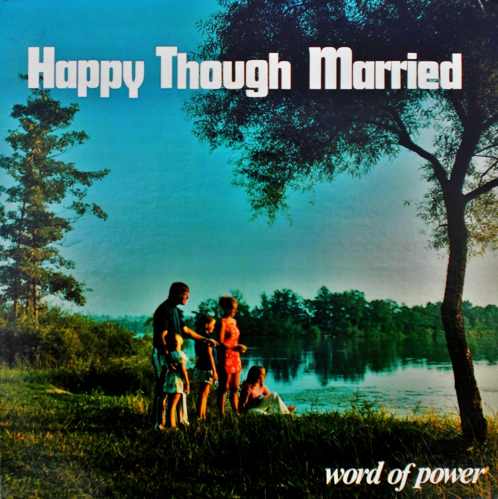 HAPPY THOUGH MARRIED front cover