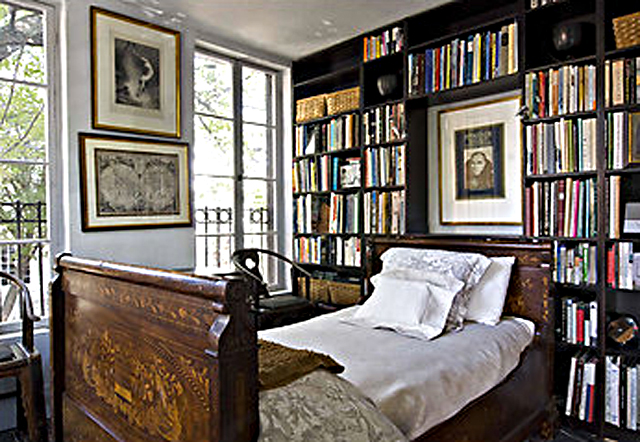 Rooms: Guest Room & Home Library Inspiration