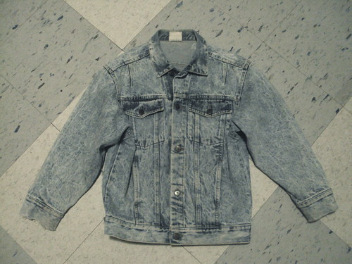 Acid Washed Jean Jacket