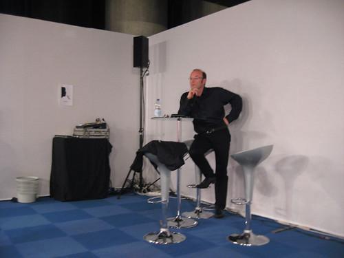 Pascal Lardellier, sociologue Université de Bourgogne-Dijon en conférence pour la Novela 2010© gaelle kermen 2010