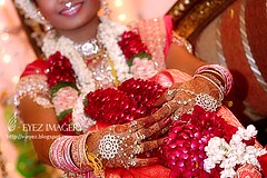 hands of a bride