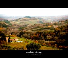 San Giminiano - Tuscany (Andrea Dentoni) Tags: autumn italy canon landscape san andrea natura tuscany toscana autunno colori paesaggi giminiano dentoni 40d mywinners abigfave colorphotoaward vanagram andreadentoni wwwandreadentonidesigncom httpandreadentoniphotographerblogspotit