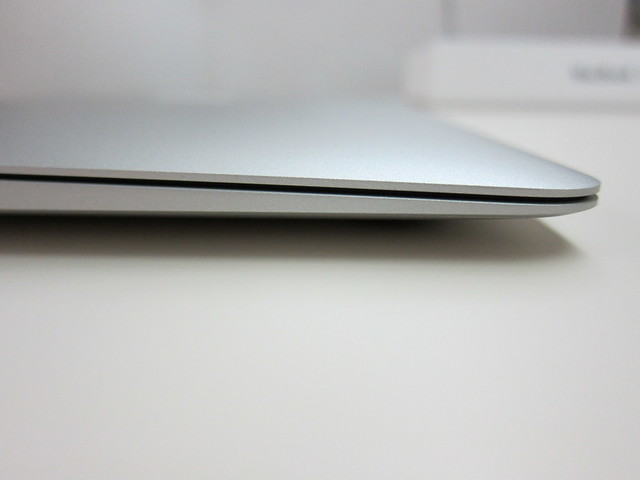 Thinest End Of The MacBook Air