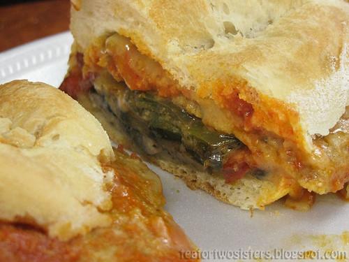 Veal Parmesan Sandwich 3