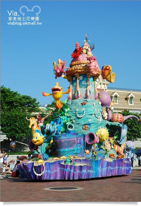 【香港迪士尼】跟著via玩香港(3)~迪士尼卡通人物歡樂巡遊33