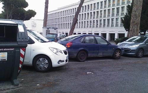 parcheggio all'EUR