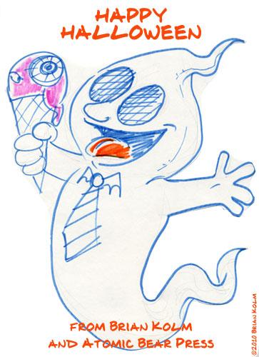 halloween ghost 2010