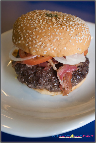 Burger Boy's Stuffed Mushroom Burger (P130)