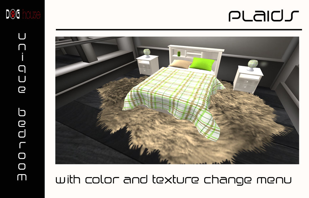 ::NEW:: Unique Bedroom - Plaids
