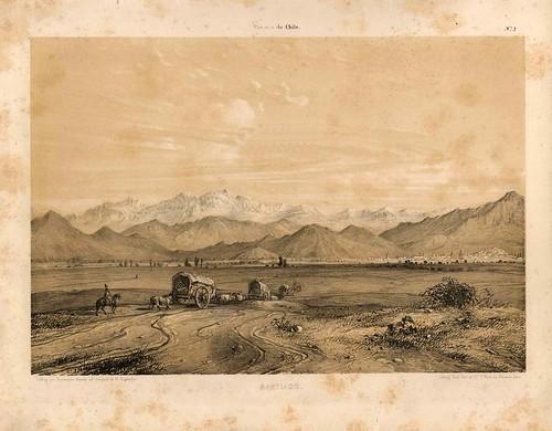 006-Santiago de Chile-Atlas de la historia física y política de Chile-1854-Claudio Gay