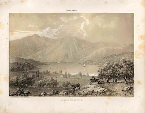 009-Laguna de Aculeu-Atlas de la historia física y política de Chile-1854-Claudio Gay