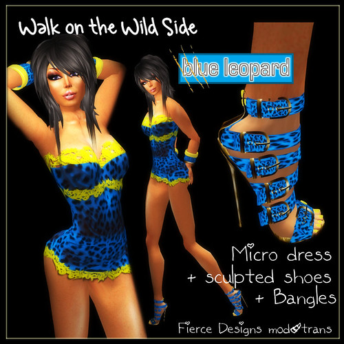 walk on the wild side blue leopard