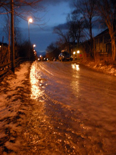 Vinteren i Nordnorge - is
