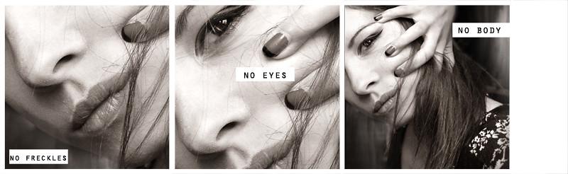 no freckles