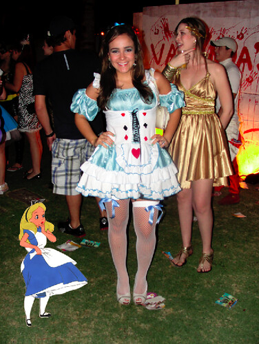 Andressa Pearce - Halloween do Varanda's 06/11/10