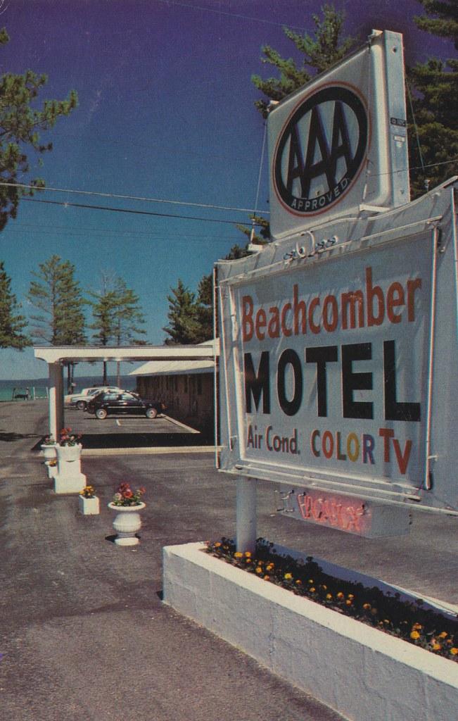 Beachcomber Motel - Mackinaw City, Michigan