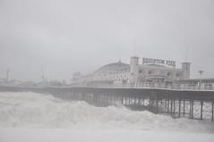 Brighton_Waves_2_004 (Peter-Williams) Tags: uk november sea beach sussex pier brighton wave spray seafront groyne breaker 2010 breakwater