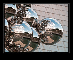 In the Globulus (Kepa_photo) Tags: art raw olympus bilbao zuiko euskalherria euskadi paisvasco 43 gugenheim fourthirds olympuse1 frankgery digital43 livemos talltreeandtheeyeanishkapoor kepaphoto kepaargazkiak