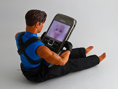video call (German G) Tags: nokia barbie videocall maxsteel e71