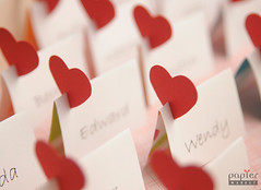 Red paper heart (papiermarket) Tags: original wedding project paper children cards diy colorful pattern message handmade cartoon note card envelope easy placecard