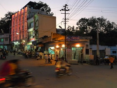Evening of diwali