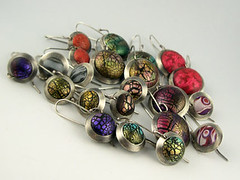 Various earrings (metalartiste) Tags: polymerclay earrings naftali sterlingsilver