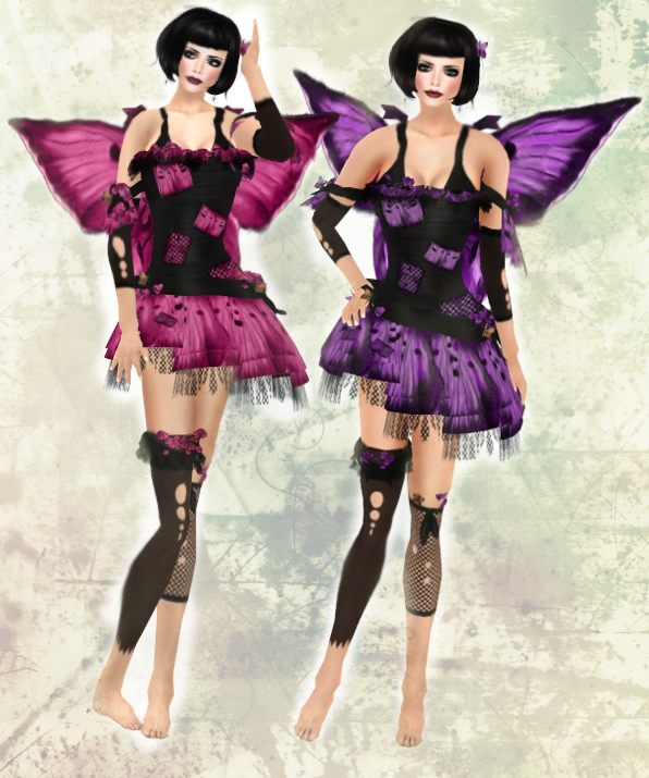 Angelwing 25L Weekend Special - Forgotten Fairy Pink & Purple