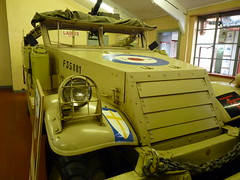 M3A1 Reconnaissance Vehicle (White) ( Claire ) Tags: white norfolk vehicle reconnaissance m3a1 muckleburgh muckleburghcollection