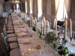 Pranzo al Castello - Tavolo reale