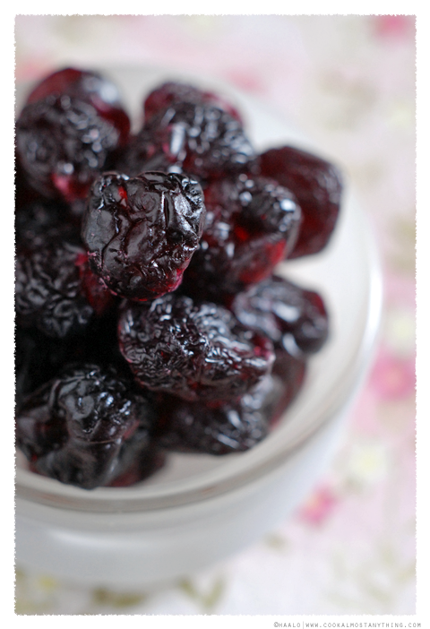 dried royal cherries© by Haalo