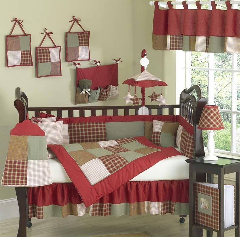 JoJo Designs Caseys Cabin Cribset at www.uniquelinensonline.com