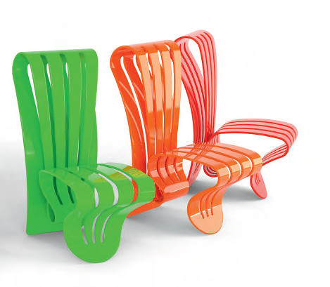 New inspiration: Elegant Creative Outdoor Furniture by Avanzini - Organic Leaf Collection