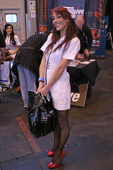 Car Show Girls (Lazenby43) Tags: girls glamour uniform models nurse nec promotions promogals