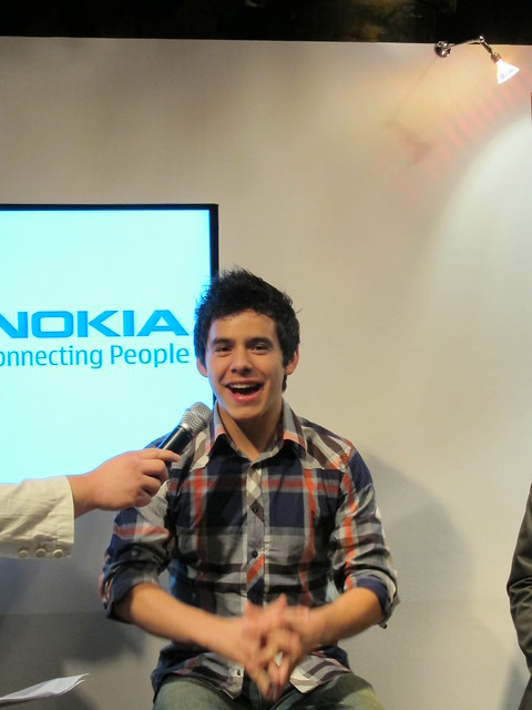 David Archuleta At Media Conference