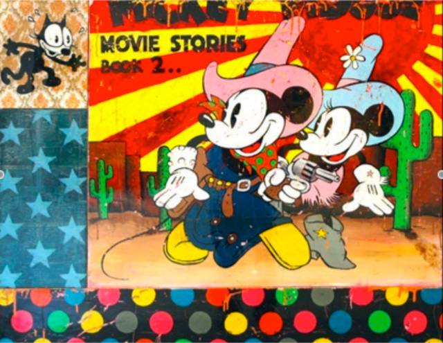 Mickey Mouse by Joseph
