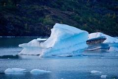 Breakaway Glacier Ice