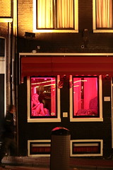 Red district (Joachim M) Tags: pink red amsterdam district prostitute paysbas hollande