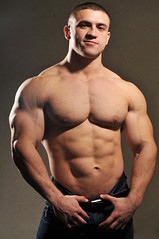 Muscle Stud (konastud99) Tags: pecs muscle smooth biceps stud
