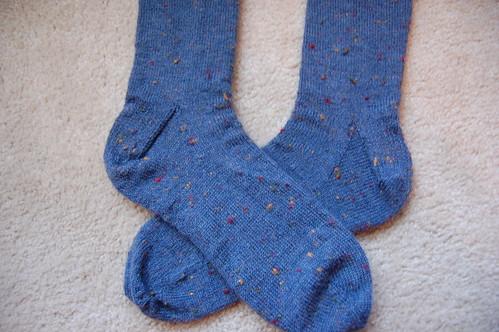 FO: Josh's socks
