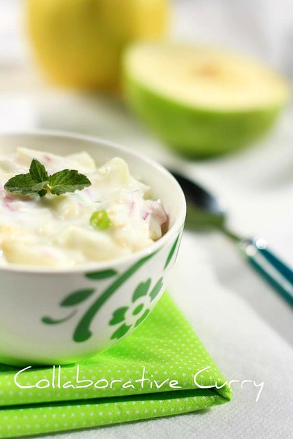 Apple Raita